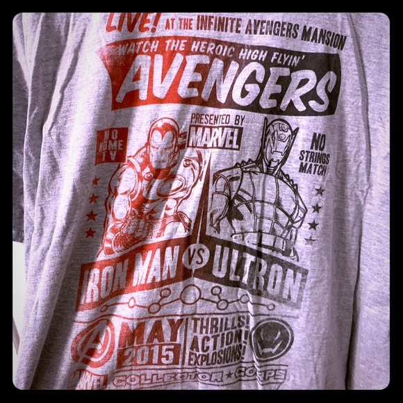 "Marvel Other - Marvel/Funko ""Avengers: Age of Ultron"" Shirt, 3XL"